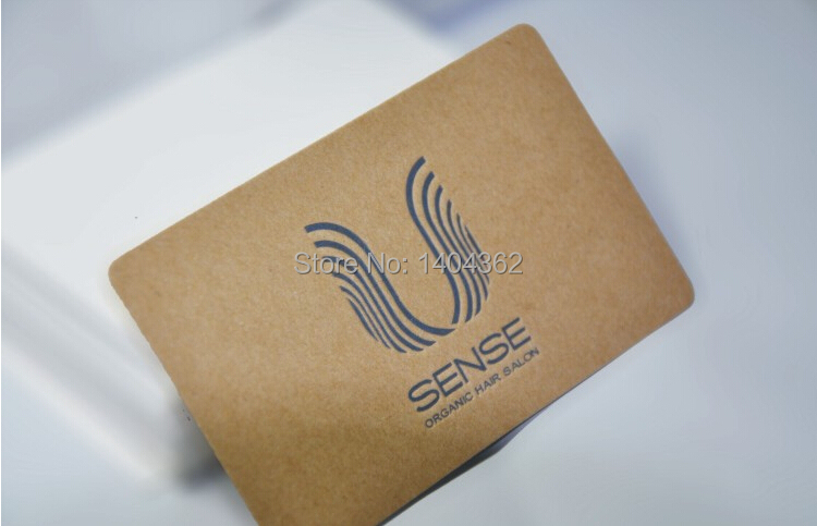 Free shipping custom 500pcs specialty paper 350g kraft paper free shipping custom 500pcs specialty paper 350g kraft paper business cards business card printing visit card in business cards from office school colourmoves