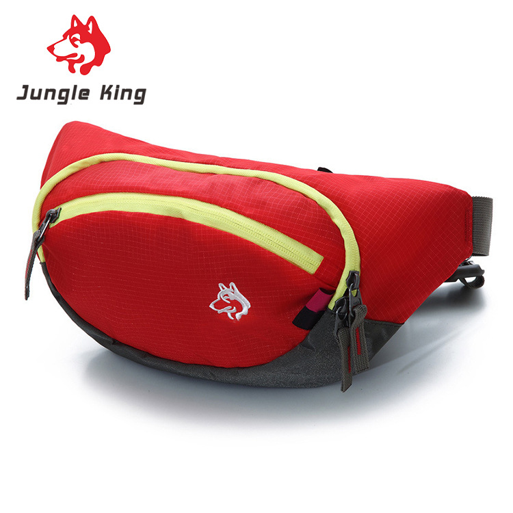 Jungle King 2017 new sports pockets outdoor camping supplies hiking bags nylon stealth brand wholesale 5L mobile phone bag