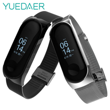 Mi Band 3 Strap Metal Wristband For Xiaomi Mi Band 3 Strap Bracelet Metal Buckle
