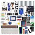 Kuongshun más completa Uno R3 Kit de iniciación con componentes de alta calidad y sensores
