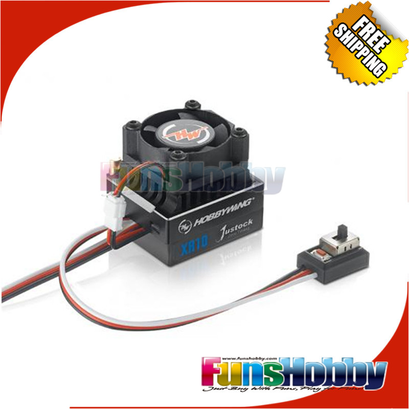 ФОТО Hobbywing Xerun XR10 Justock 60A Sensored Brushless ESC Speed Controller.COD.30112000
