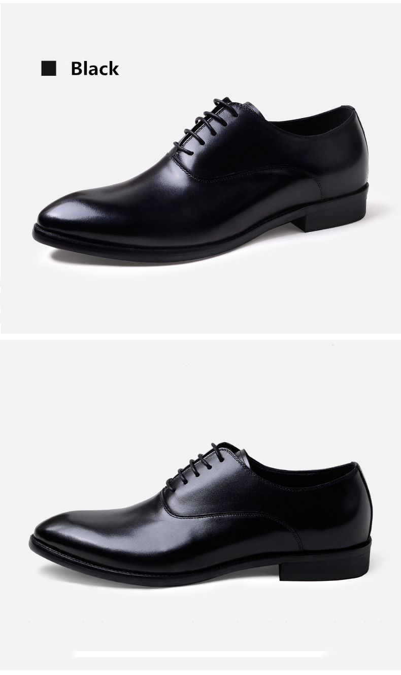 Phenkang mens formal shoes genuine