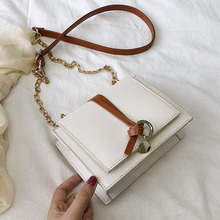 купить Female Crossbody Bags For Women 2019 High Quality Leather Luxury Handbag Designer Sac A Main Ladies Chain Shoulder Messenger Bag по цене 904.67 рублей