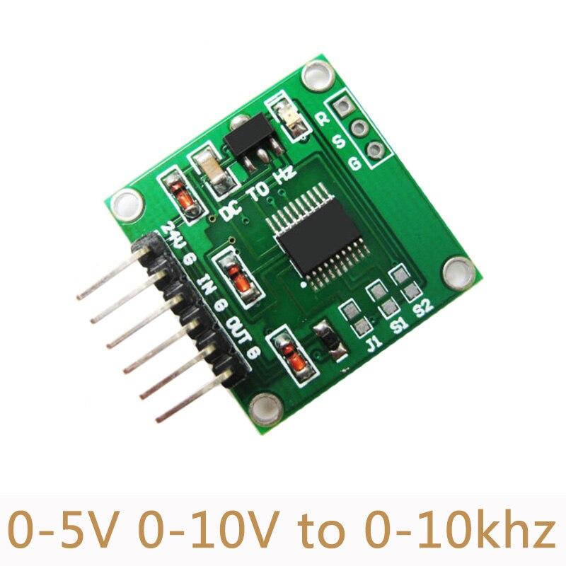10 шт./лот новая версия, модуль передатчика линейного преобразования напряжения в частоту 0-5 В от 0-10 В до 0-10 кГц