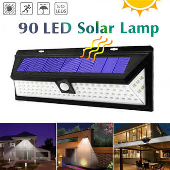 90/118 Led Solar Light Outdoor Waterproof Motion Sensor    SMD 2835 IP65 Lighting Decor Garden Light Solar Powered Security Lamp - DISCOUNT ITEM  35% OFF All Category