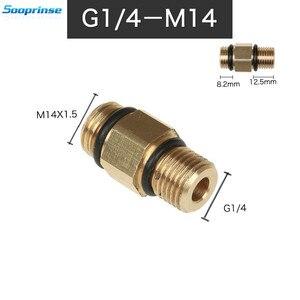 Image 5 - Высококачественный адаптер для стиральной машины G1/4 M14, пеногенератор, пистолет, пенообразователь, автомобильные аксессуары, автоинструмент, автостайлинг