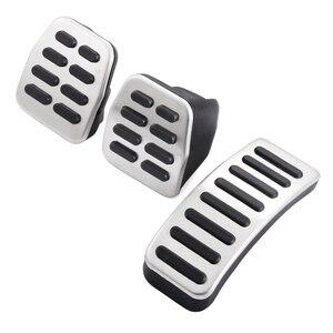 Image 2 - Автомобильные тормозные педали из нержавеющей стали для Audi TT, педали Для VW SEAT Golf 3 4 Polo 9N3 для SKODA Octavia Ibiza Fabia A1 A2 A3 GTI