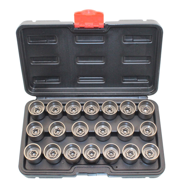 20pcs Wheel Screw Lock Socket Set For BMW For Anti theft Socket Removal
