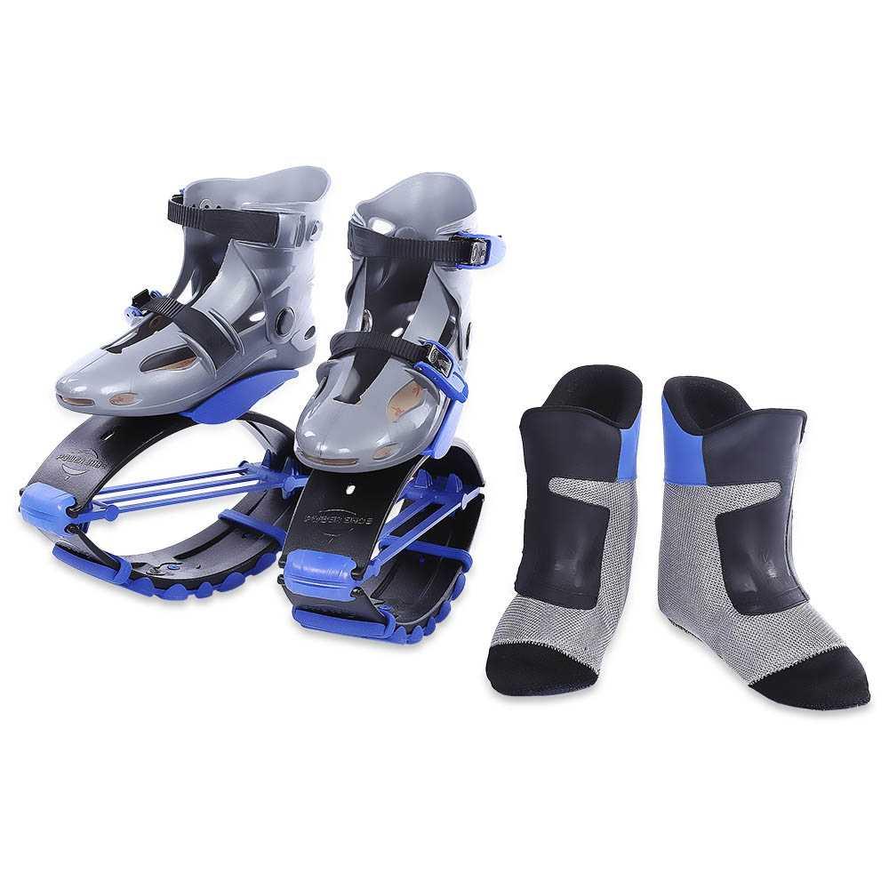 ... 2018 nuevo salto botas rebotan zapatos canguro niños adolescentes  adultos deportes al aire libre gimnasio zapatos ... 55f0fd73506