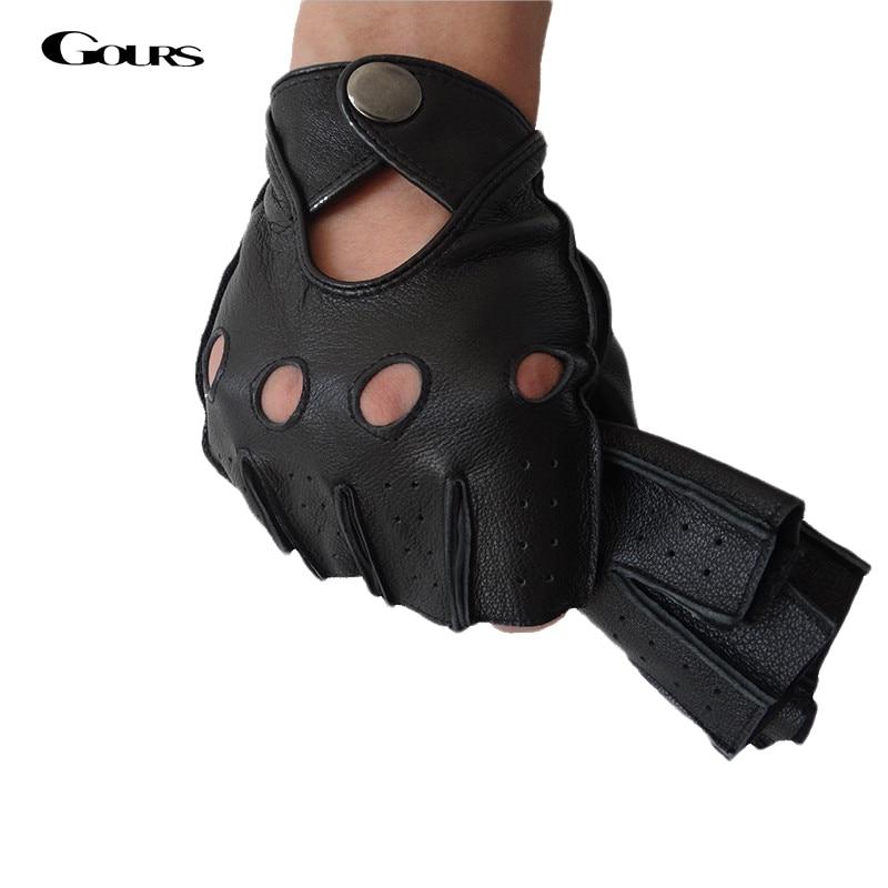 кожаные водительские перчатки