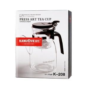 Image 5 - Filtr szklany kubek do herbaty 900ml dzbanek na herbatę elegancka filiżanka szklany zestaw do herbaty szklany kubek