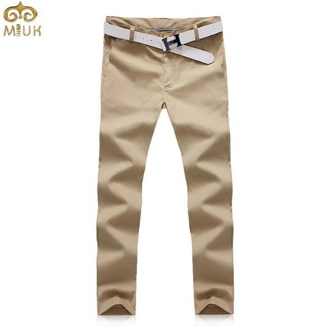 Miuk super grande tamanho sólida estilo verão calças dos homens 40 42 hip hop calças de algodão preto calças brancas do tornozelo-comprimento 11.11 2017 novo