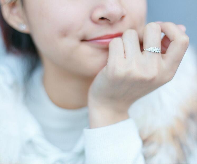 """""""Shuangshuo"""" nauji atvykimo sidabro žiedai moterims mergaitėms - Mados papuošalai - Nuotrauka 5"""