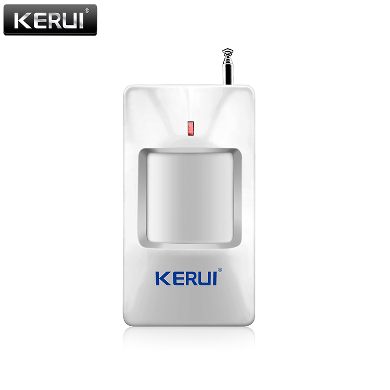 KERUI P815 Wireless Alarm PIR Infrared Sensor Motion Detector Move Detection For G18 GSM Alarm System kerui wireless window curtain pir motion detector positive infrared sensor low power circuit design 433mhz for alarm system