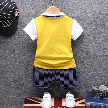 Summer Cotton Baby Clothing Set 4