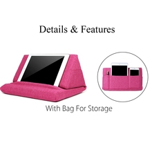 Multifunction Laptop Tablet Pillow PC Stand Holding Holder Stylish Cooling Pad Foam Lap Rest Cushion for Ipad