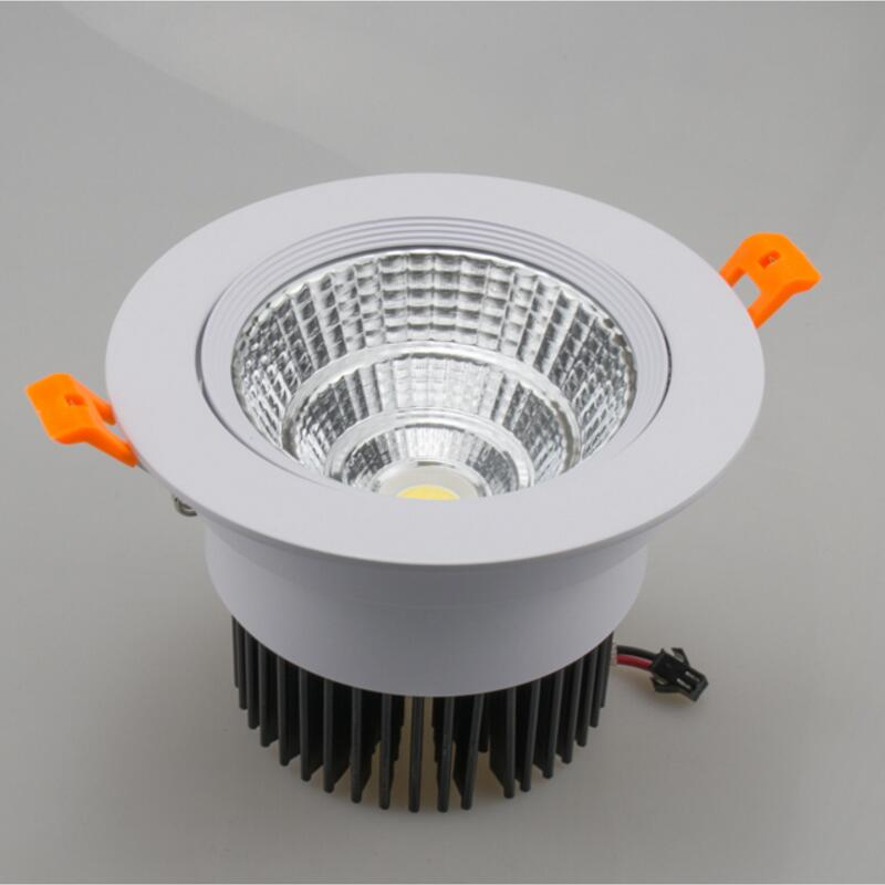High Quality Dimmable LED COB Downlight AC110V 220V 7W 10W 15W 20W Recessed LED Spot Light lumination Indoor Decoration in LED Downlights from Lights Lighting