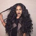 250% Фронта Шнурка Человеческих Волос Парики Бразильский Объемная Волна Полный Шнурок человеческих Волос Парики Для Чернокожих Женщин 8А Glueless Передние Парики Шнурка