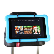 Car backseat tablet mount headrest holder for Amazon Kindle Fire 7, HD 8, 10 Kids Edition with / without Case