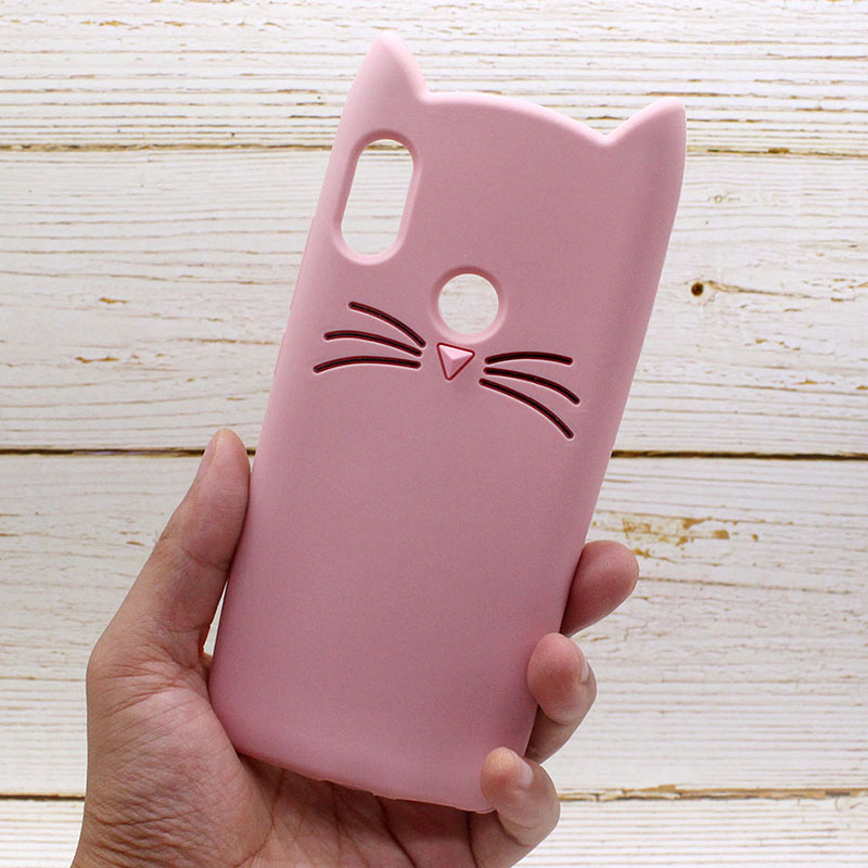 note 5 phone cases Redmi Note 5 Pro Case Cat Pink