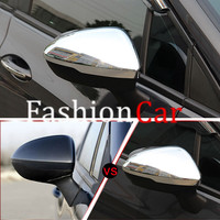 ABS Chrome Rearview Side Mirror Cover Trim 2pcs For Opel Astra K 2015 2016 2017