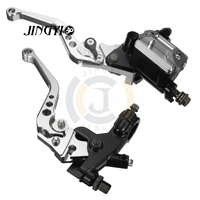 7/8 CNC Master Cylinder Cover Motorcycle Clutch Brake Lever FOR YAMAHA XMAX CB650F MT09 TRACER CBR 600 F4I BENELLI TRK502