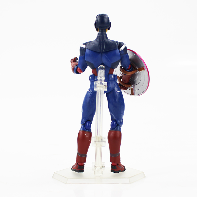 Marvel figma #226 The Avengers Captain America PVC Action Figuren Figur 15cm