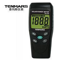 TM 206 medições de radiação solar portátil com 3 dígitos display lcd medidor de energia solar|Medidores de energia solar| |  -