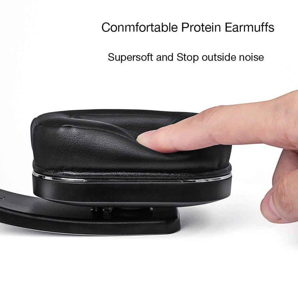 August EP750 Bluetooth наушники с AptX и активным шумоподавлением ANC - 3