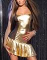 Sexy Women Sequin Clubwear Sleeveless Shiny Dress Club Mini Dress With Lace Mesh for Club Party Dance Night wear W207973