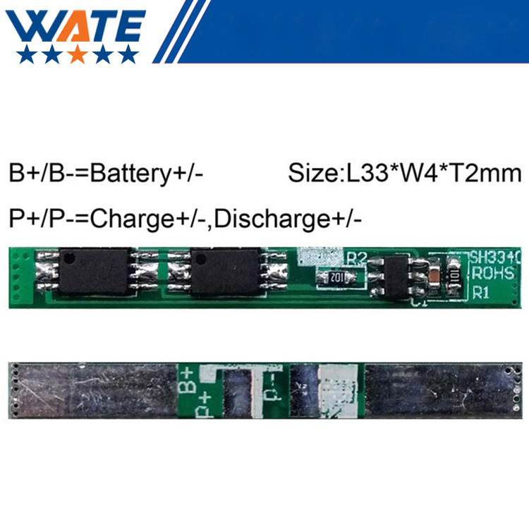 10PCS/LOT Protection Circuit Module 1S 4A BMS PCM PCB Battery Protection Board For 3.7V Li-ion lipo Battery Cell Pack circuit board hardware pcb 1371 2 1 piece