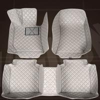 SUNNY FOX car floor mats for Skoda Superb Yeti Fabia Rapid spaceback 5D heavy duty car styling carpet floor liner