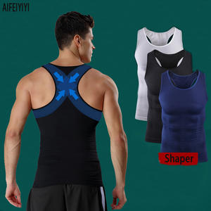 5d1ba09013 AIFEIYIYI Slimming Body Shapers Vest Corset For Men