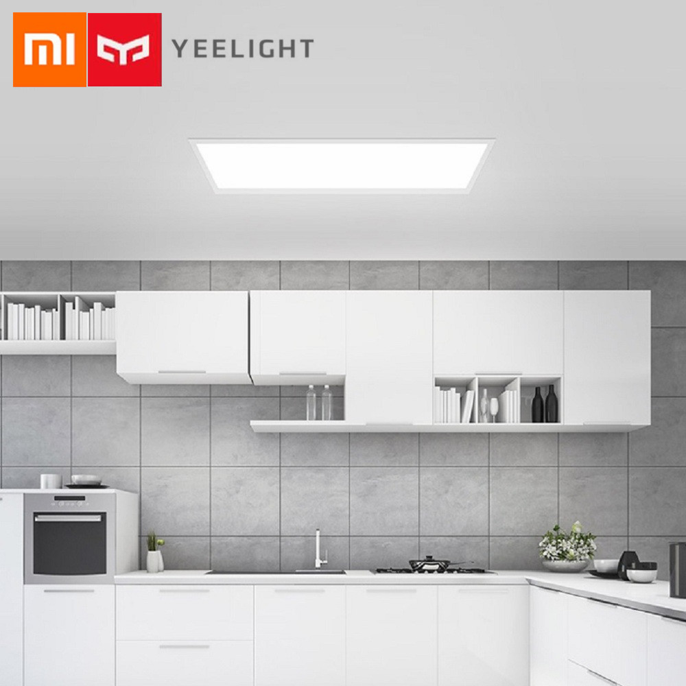Xiaomi LED Downlight YEELIGHT Ultra Thin Dustproof LED Panel Light Bedroom Ceiling Lamp For Xiaomi Smart Home Kits 1u rack brush blind flange dustproof false panel fill in the blanks kits