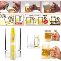 Creative Novelty Sparkling Beer Mug Eco Friendly Frothing Cup Party Supplies