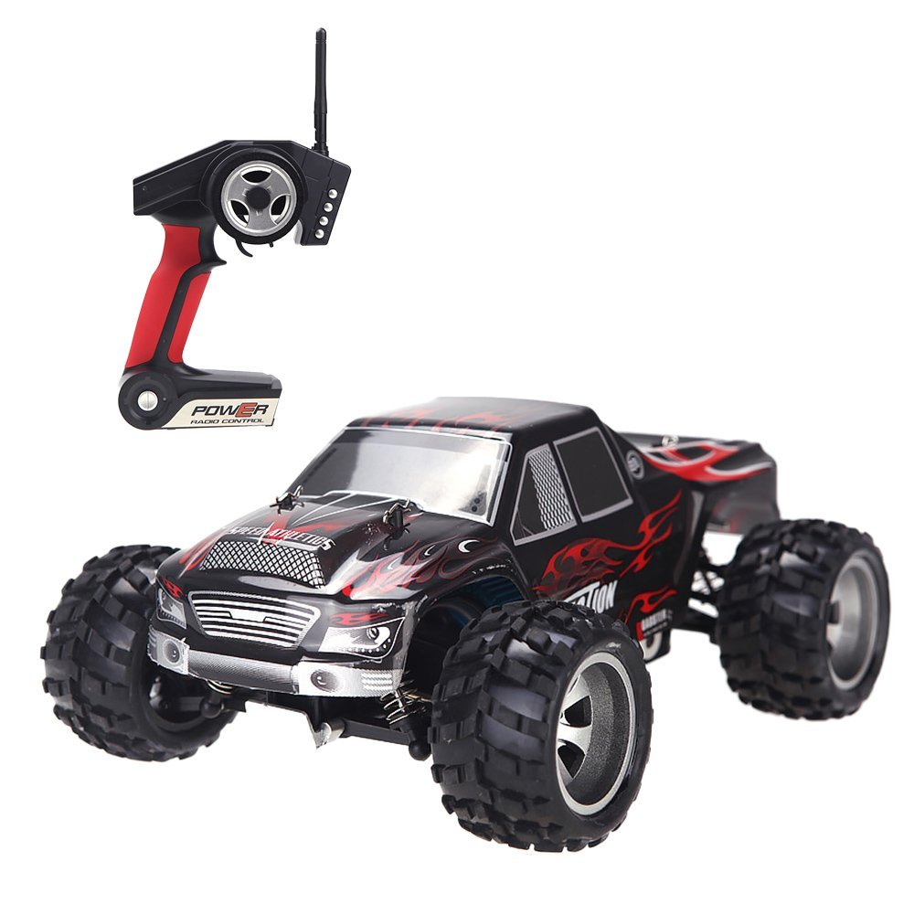 Wltoys A979 Vortex 2.4G 1:18 Scale 4WD Electric Monster Truck Mini Savge Mini RC Car Toy Gift RTRWltoys A979 Vortex 2.4G 1:18 Scale 4WD Electric Monster Truck Mini Savge Mini RC Car Toy Gift RTR