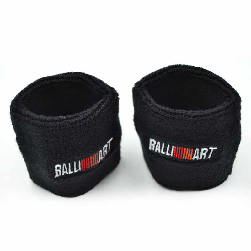 Blue/Red/Black Ralliart Power Reservoir Brake Clutch Oil Tank Cap Sock For Mitsubishi Car Styling