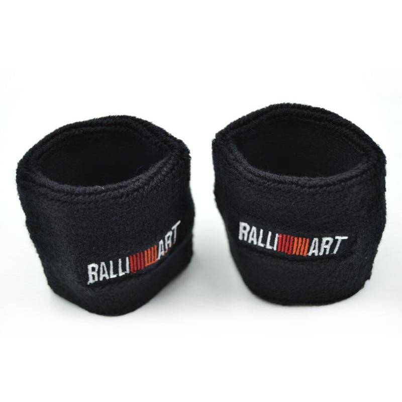 Blue/Red/Black Ralliart Power Reservoir Brake Clutch Oil Tank Cap Sock For Mitsubishi Car Styling