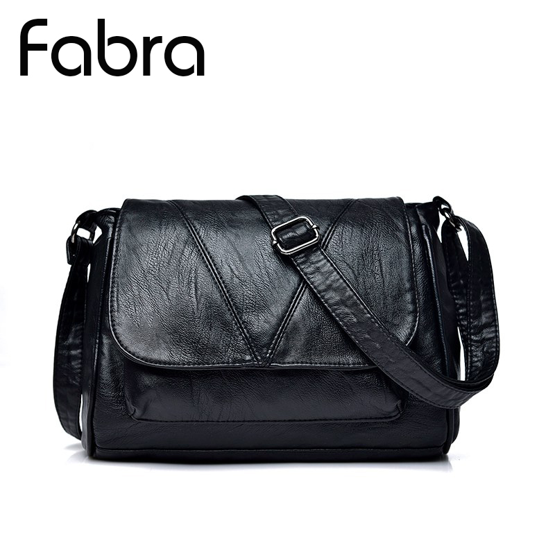 Fabra Brand PU Leather Women Messenger Bag Small Casual Female Shoulder Bag Women Crossbody Bag High Quality Handbags Bolsas high quality pu leather women shoulder bag elegant fashion women crossbody bag female casual large capacity solid messenger bag