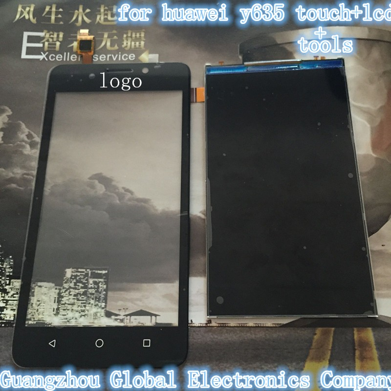 Qulity Guarantee Black Touch Screen For Huawei Ascend Y635 LCD Touch Digitizer Panel Screen