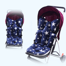 New Thicken Baby Stroller Seat Cushion Car Seat Pad Cotton Mattresses Pillow Infant Carriage Cart Soft Pad Trolley Chair Cushion
