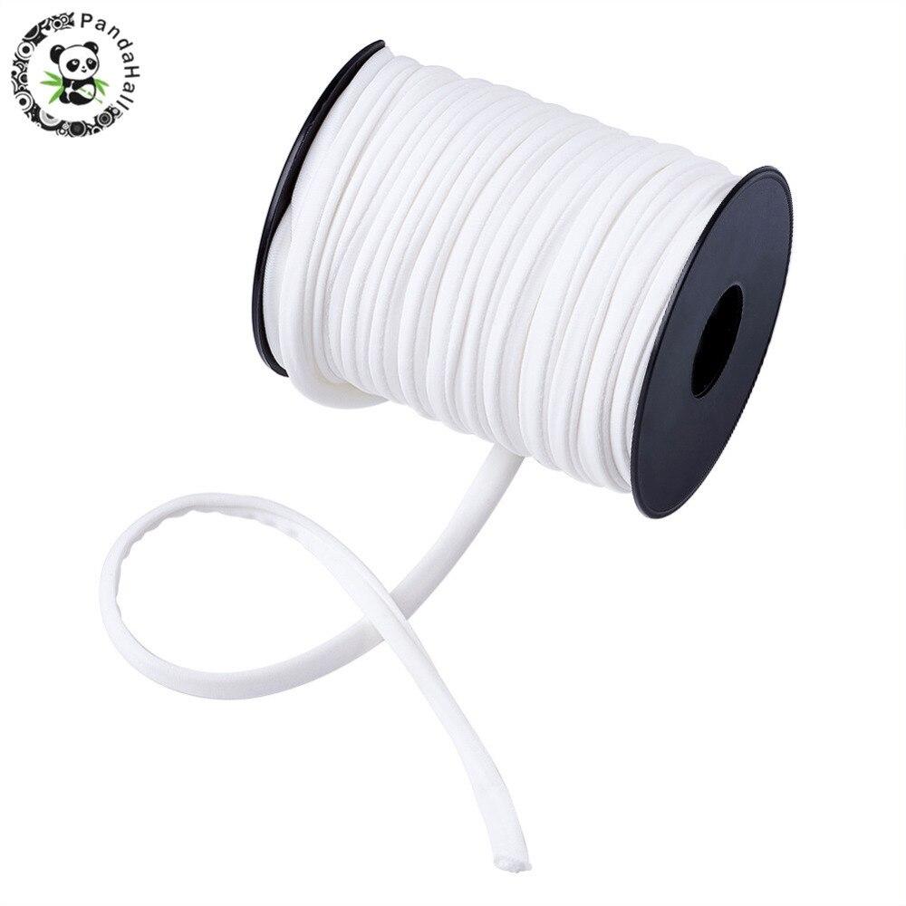 20 м 5×3 мм нейлоновый шнур китайский узел веревки для Макраме Ювелирные изделия плетеный строка DIY Браслеты Строка темы 20 Цвета PANDAHALL
