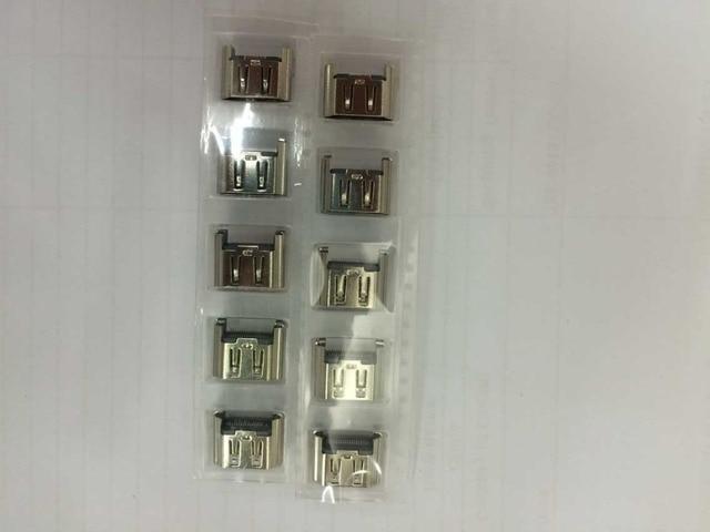 100 pces para ps4 1000 1100 hdmi compatível conector de interface de soquete de porta alta cópia