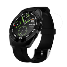 G5 Ultra Thin Waterproof Bluetooth 4.0 Smart Watch With Fitness Tracker Heart Rate Monitor SMS Call Reminder Freight free