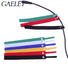 10*100mm Nylon Reusable Cable Ties with Eyelet Holes back cable tie nylon hook loop fastener management ZK30 20pcs reusable hook and loop fastening cable ties with microfiber cloth and 20pcs silicone bag ties cable management