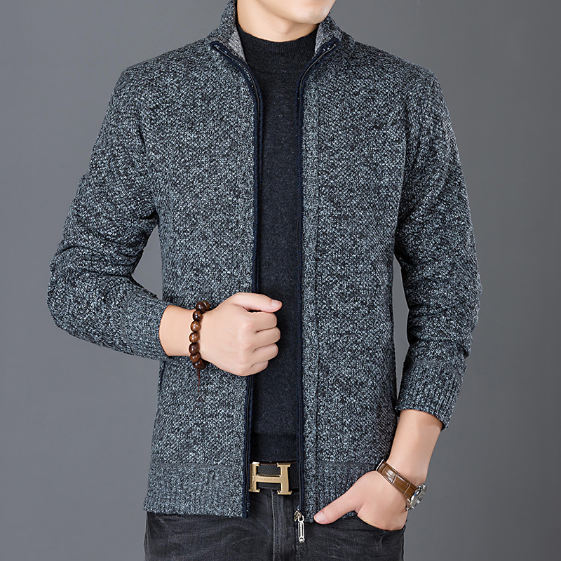 Image 4 - 2019 New Fashion Wind Breaker Jackets Men Stand Collar Trend Street Style Overcoat Cardigan Autumn Casual Coat Mens Clothes-in Jackets from Men's Clothing