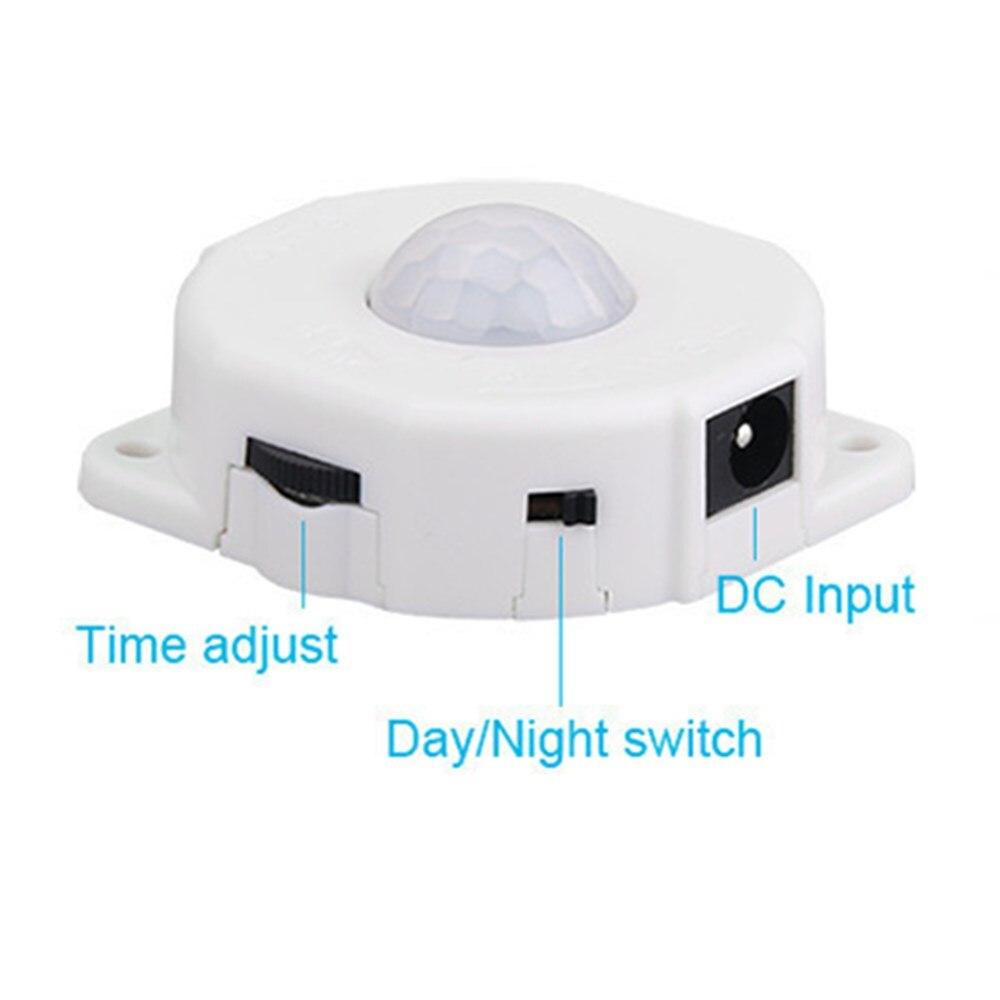 Adjustable LED Light Control Auto Motion Sensor Night Lights Emergency Lamp Time Delay Home Indoor Lighting Baby Bedroom
