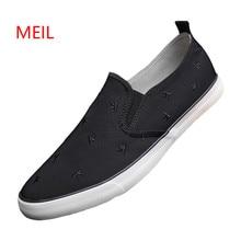 2018 Mens Shoes High Quality Men Casual flat Shoes Summen Autumn Loafers Men Canvas Shoes Breathable Men Flats Zapatillas Hombre все цены