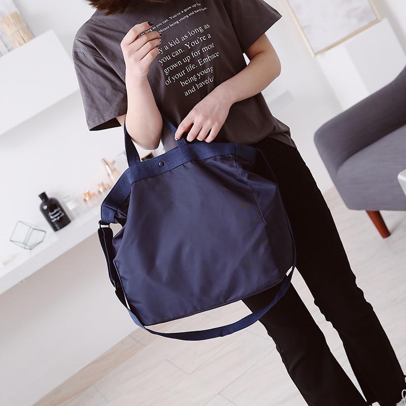 Hot Sale Nylon Women s Handbags Big Size Women Casual Tote Travel Bags Women  Messenger Bags Unisex a07c32ea1962c
