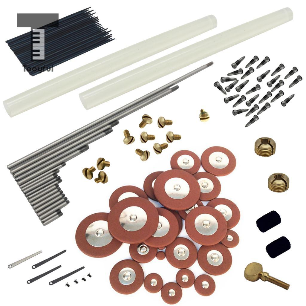 цена Durable Alto Saxophone Maintenance Kit Set for Saxophonist Woodwind Instrument DIY Repair Tools